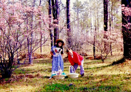Maria and Chris, Easter 1991