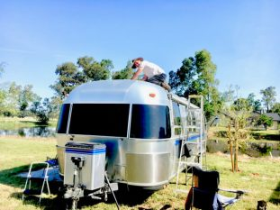 Solar installation requires an Airstream specialist.