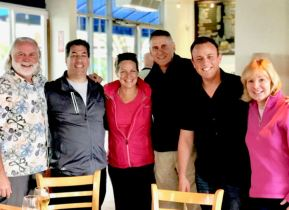 Brad Morris, Julie Hunt, Jim Marlar, Chris Beaubeaux, Melina Marlar