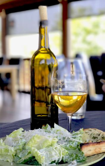 Award-winning chardonnay at Snyder Winery