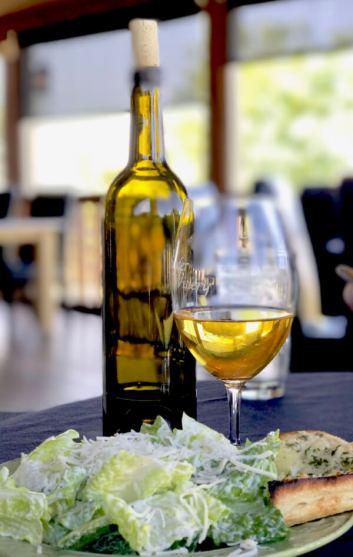 Award-winning chardonnay at Snyder Winery
