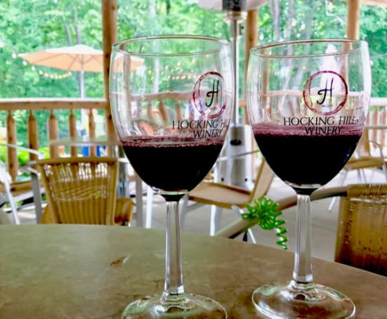 The Hocking Hills Winery offered some excellent choices