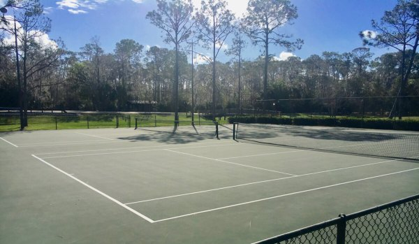 Disney's Fort Wilderness campground tennis