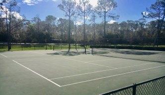 Disney's Fort Wilderness campground tennis