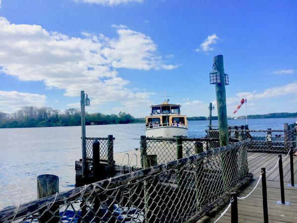Disney's Fort Wilderness campground ferry