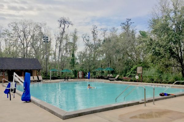 Disney's Fort Wilderness campground pool
