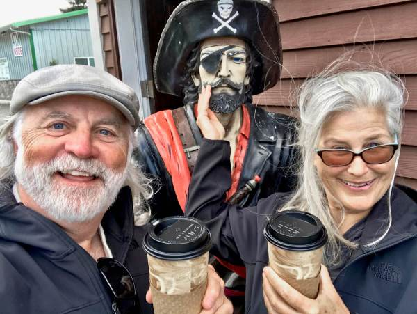 Pirate Coffee, Depoe Bay, Oregon