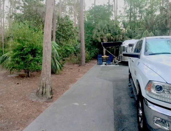 Disney's Fort Wilderness campground site