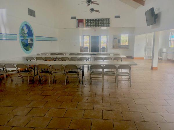 Chula Vista RV Resorts large clubroom