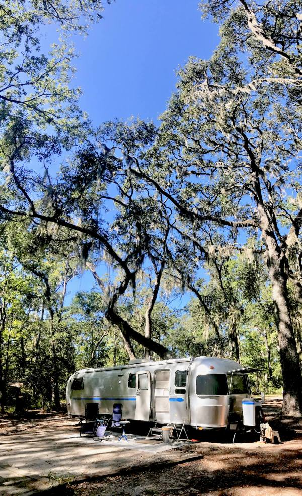 Skidaway Island State Park campground