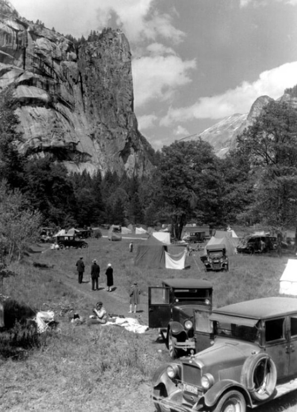 Yosemite National Park in 1927