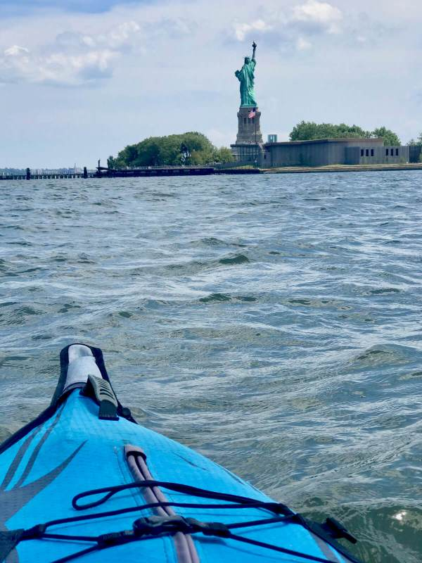 kayaking Manhattan