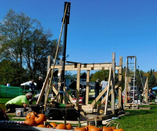 Vermont Pumpkin Chuckin' Festival