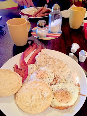 (Breakfast at Emsy's Cafe)