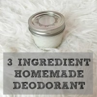 Beauty Series | 3 Ingredient Homemade Deodorant Recipe