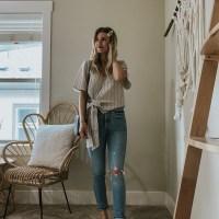 Sustainable Style Sessions | Light Wash Denim Four Ways