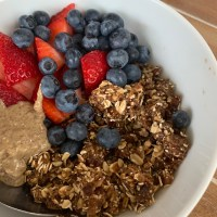5 Minute No Bake Granola Recipe