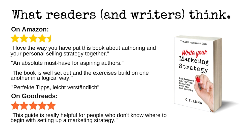What readers think of The Aspiring Author's Guide: Write Your Marketing Strategy by Cynthia T. Luna