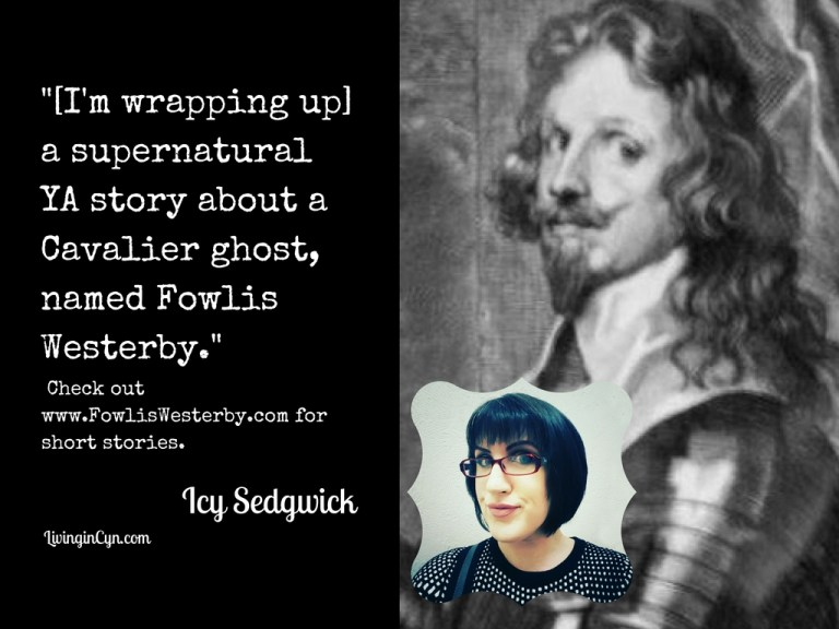Fowlis Westerby, Cavalier Ghost-- Story by Icy Sedgwick coming soon