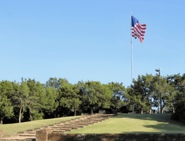 Photo of Flag Pole Hill Park at White Rock Park in Dallas Things to do in Dallas on Memorial Day