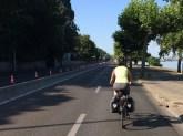 No cars during the triathlon.