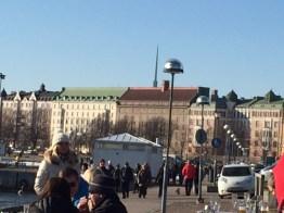 Sun is shining Helsinki