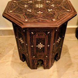Engraved Syrian Wood Art