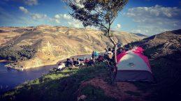 Camp at King Talal Dam