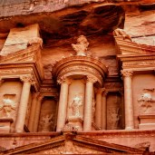 Living in Jordan as Expat - Treasury Petra world wonder, Jordan
