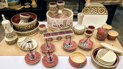 Qadeem pottery Items in Showroom Amman, Jordan