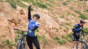 Cyclists in Jordan
