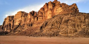 Getting into Wadi Rum