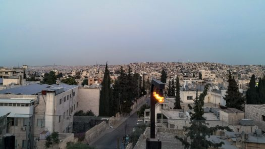 District - View over Amman
