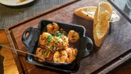 Lucca Steak House - Garlic Shrimps