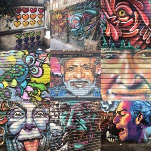 Streetart in Jerusalem