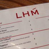 LHM - Menu
