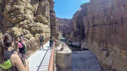 Wadi Mujib - Entrance