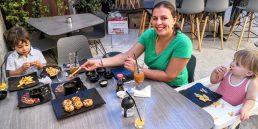 Sushi Den - happy family