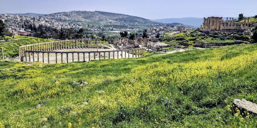 Jerash in Spring