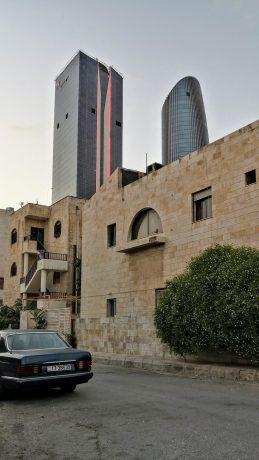 Amman Rotana - from nearby