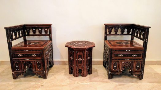 Mosaic Rajai - Table and Chairs