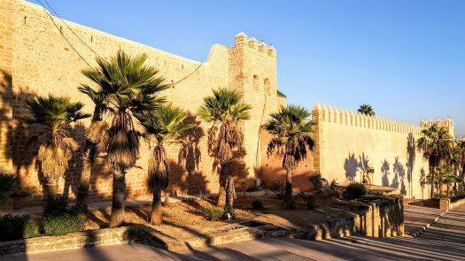 Kasbah of the Udayas, in Rabat, Morocco