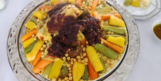 Couscous Aux Sept Legumes