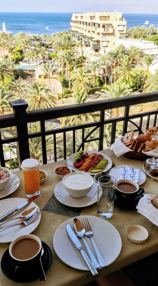 Movenpick Aqaba City - Breakfast on Balcony
