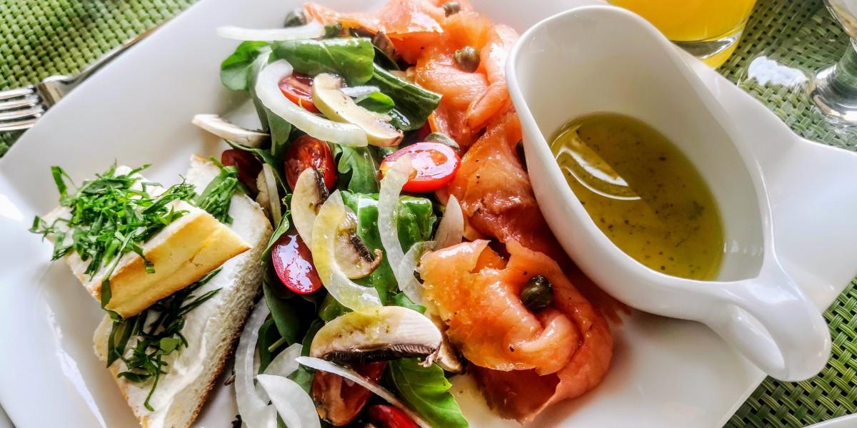 Movenpick Aqaba City - Smoked Salmon Salad