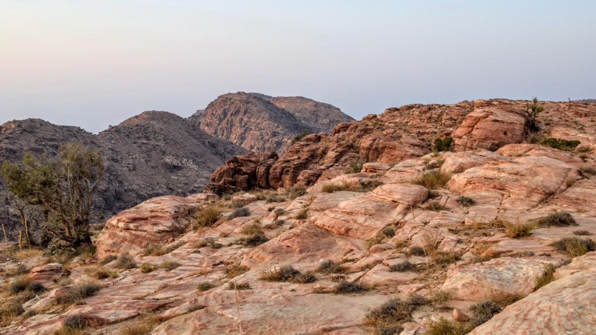 Views from Ras Al-Feid, Jordan