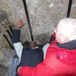 Kissin' the Blarney Stone