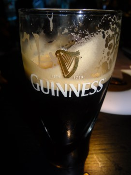 the sign of a good pour...