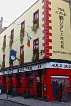 The Auld Dubliner in Temple Bar