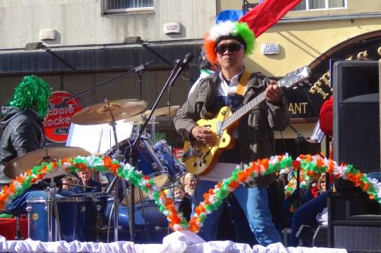 "Limerick Filipino Community singing ""Don't Tell my Heart.....my achey breaky heart..."""